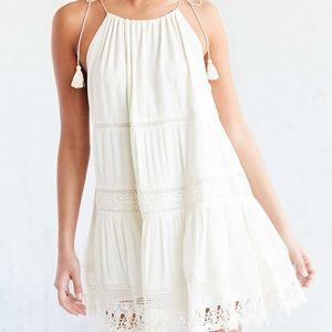 NWT Kimchi Blue LaPalma White Crochet Inset Dress